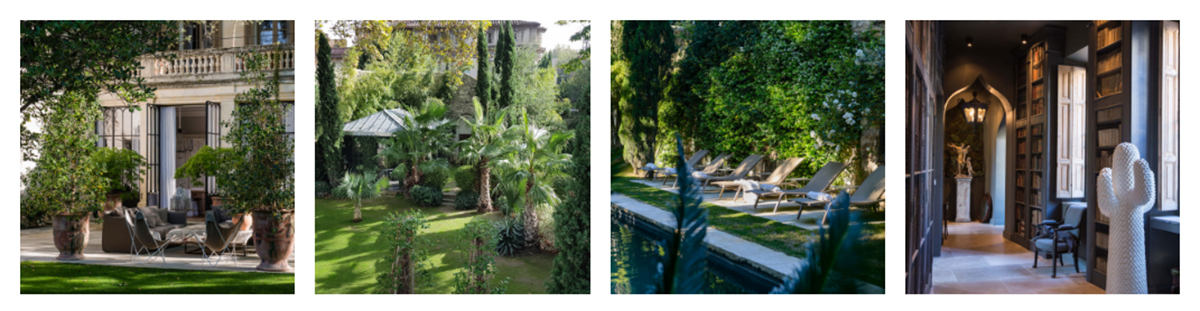 Un lieu de tournage unique dans le Luberon pour shooting photo - Une demeure privée au coeur d'Avignon - Un élégant hôtel particulier du XIXe
