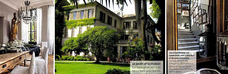 Maison Décoration :  Découvrez le Palais des Papes, cette maison d'hôtes et ses suites au coeur de la ville d'Avignon.