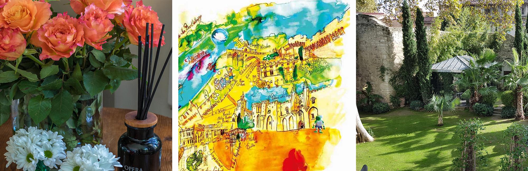 hôtel particulier suites bien-être en Avignon Provence