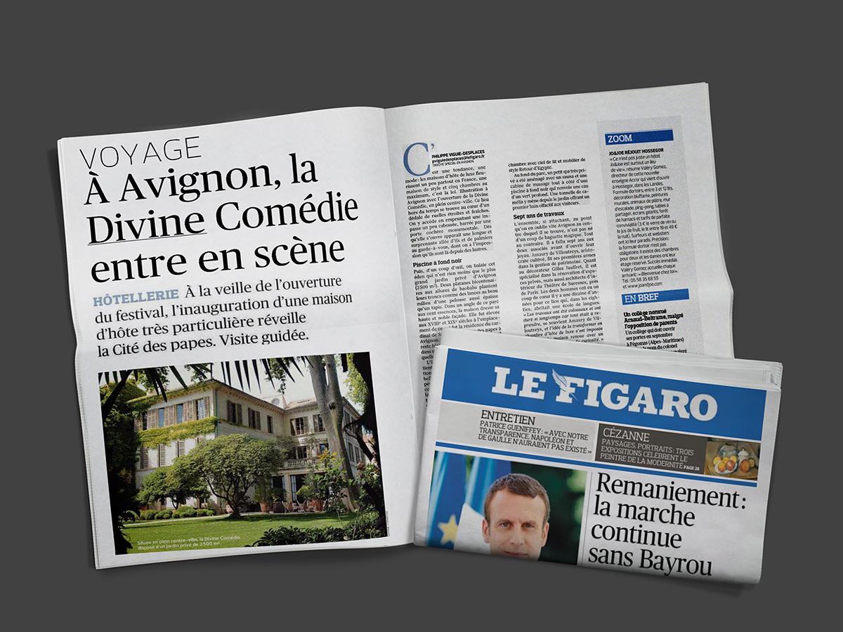 La Divine Comédie maison d'hôte très particulière grandes suites petit spa très privé centre-ville d'Avignon maisons d'hôte de luxe