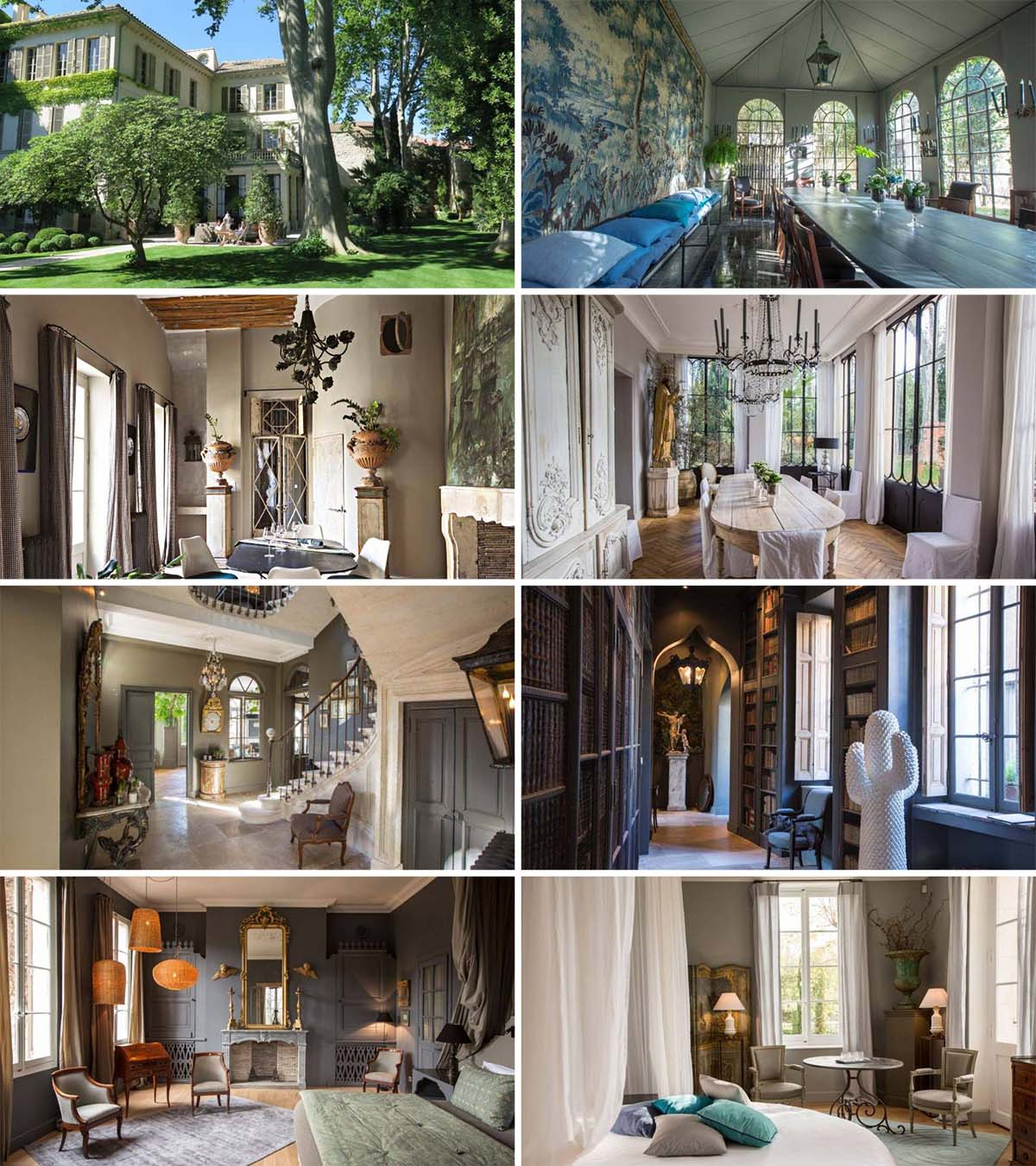 La Divine Comédie hôtel de luxe visiter le Palais des Papes centre-ville d'Avignon voyage romantique