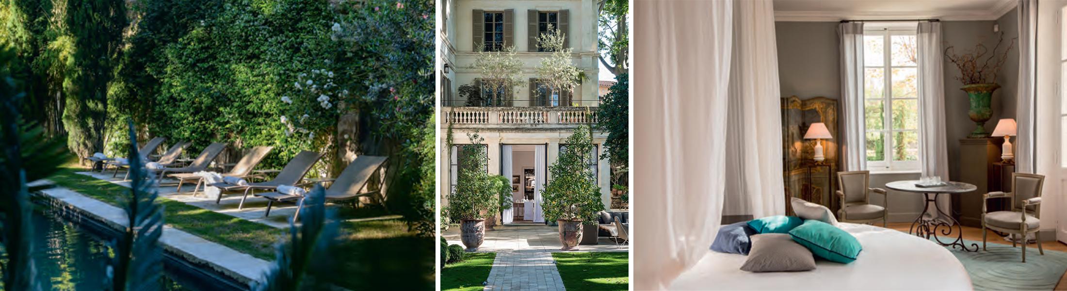 La Divine Comédie dans centre historique d'Avignon maison d'hôtes unique lieu d'exception avec Spa