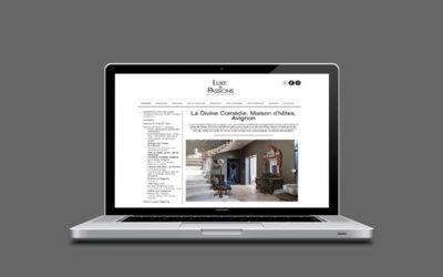 Revue de Presse : Luxe et Passions 01/2018