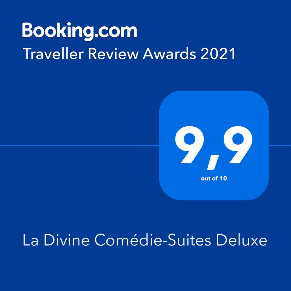La Divine Comédie remporte un Traveler Review Awards pour 2021 !